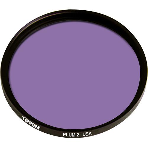 """Tiffen 4.5"""" Round 2 Plum Solid Color Filter"""