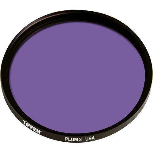 """Tiffen 4.5"""" Round 3 Plum Solid Color Filter"""