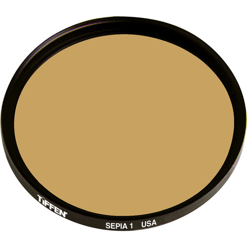 "Tiffen 4.5"" Round 1 Sepia Solid Color Filter"