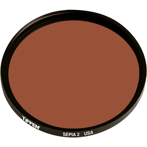 "Tiffen 4.5"" Round 2 Sepia Solid Color Filter"