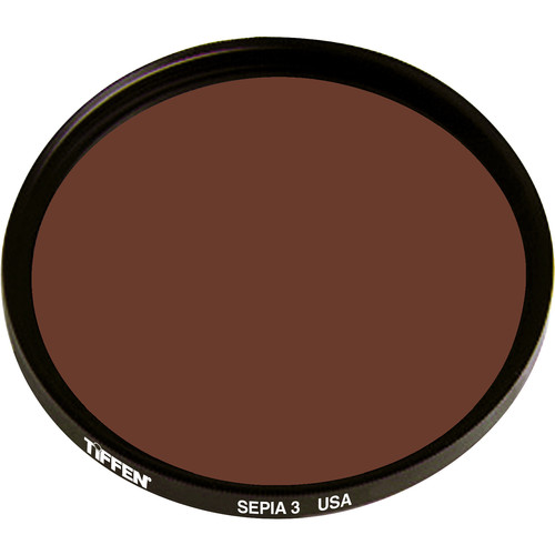 "Tiffen 4.5"" Round 3 Sepia Solid Color Filter"