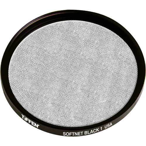 "Tiffen 4.5"" Round Softnet Black 1 Filter"
