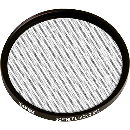 """Tiffen 4.5"""" Round Softnet Black 2 Filter"""