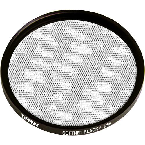 """Tiffen 4.5"""" Round Softnet Black 3 Filter"""