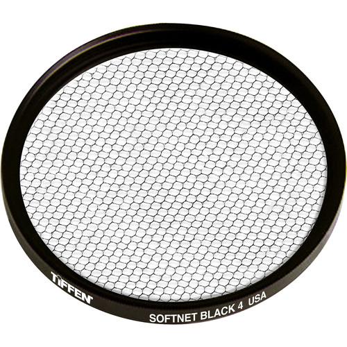 """Tiffen 4.5"""" Round Softnet Black 4 Filter"""
