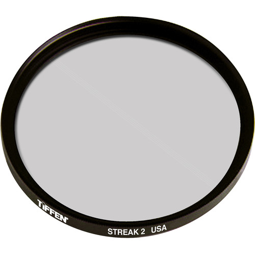 "Tiffen 4.5"" Round Streak 2mm Self-Rotating Filter"