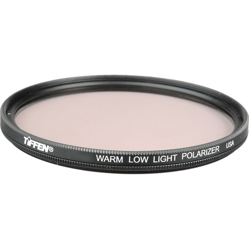 "Tiffen 4.5"" Round Warm Low Light Self-Rotating Linear Polarizer Filter"