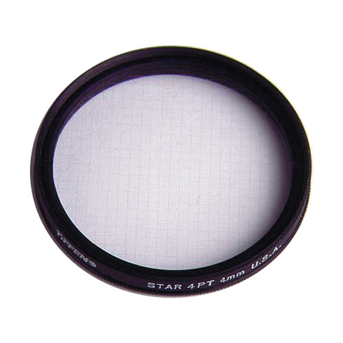 "Tiffen 4.5"" Round 4pt/4mm Grid Star Effect Filter"