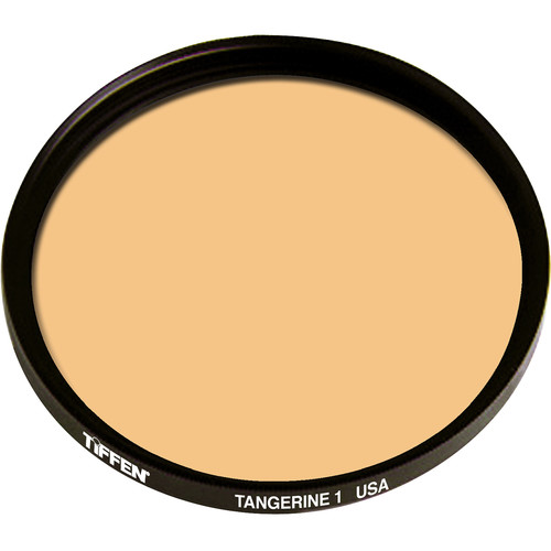 "Tiffen 4.5"" Round 1 Tangerine Solid Color Filter"