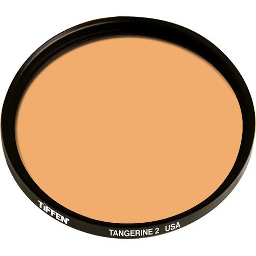 "Tiffen 4.5"" Round 2 Tangerine Solid Color Filter"