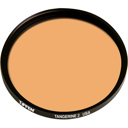 "Tiffen 4.5"" Round 2 Tangerine Solid Color Filter"