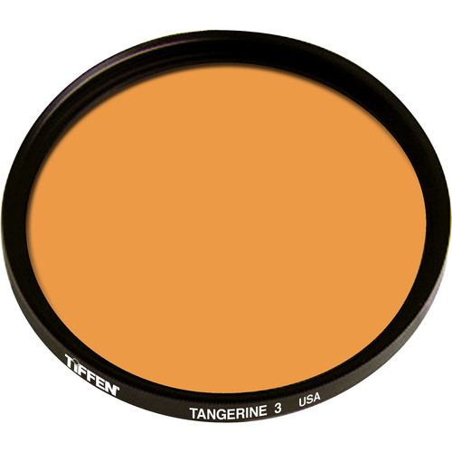 "Tiffen 4.5"" Round 3 Tangerine Solid Color Filter"