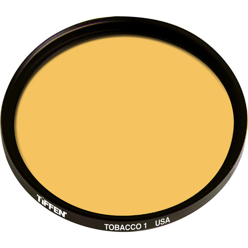 "Tiffen 4.5"" Round 1 Tobacco Solid Color Filter"