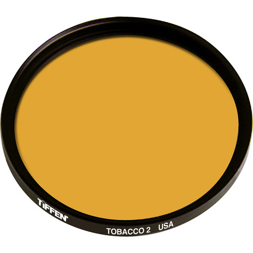 "Tiffen 4.5"" Round 2 Tobacco Solid Color Filter"