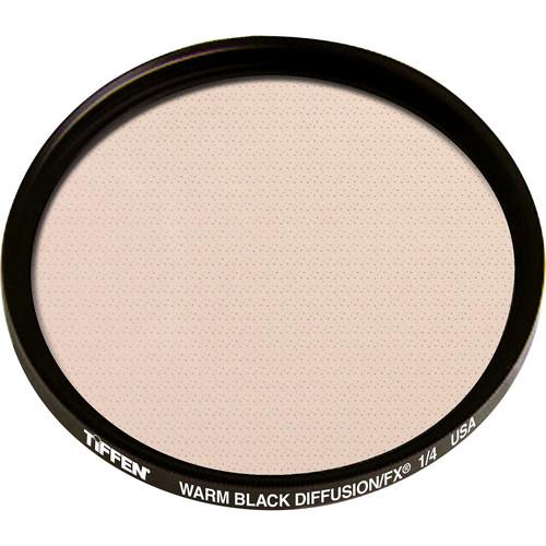 """Tiffen 4.5"""" Round Warm Black Diffusion FX 1/4 Filter"""