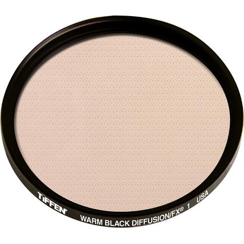 """Tiffen 4.5"""" Round Warm Black Diffusion/FX 1 Filter"""