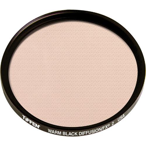 """Tiffen 4.5"""" Round Warm Black Diffusion/FX 2 Filter"""