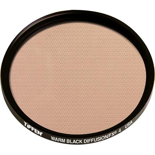 """Tiffen 4.5"""" Round Warm Black Diffusion/FX 4 Filter"""
