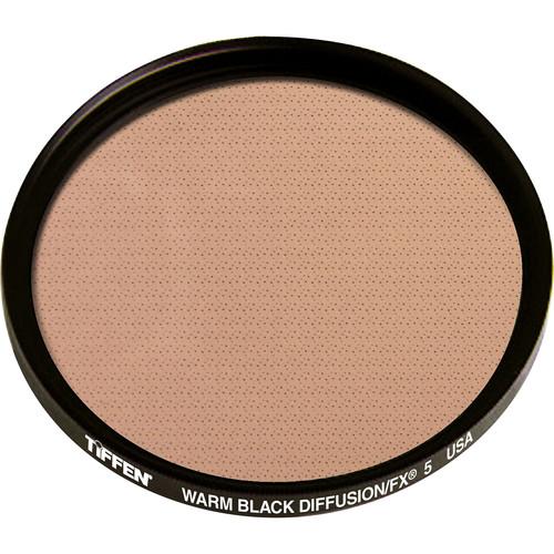 """Tiffen 4.5"""" Round Warm Black Diffusion/FX 5 Filter"""