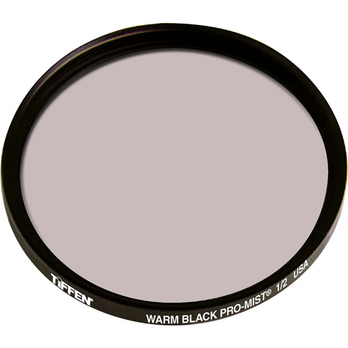 "Tiffen 4.5"" Round Warm Black Pro-Mist 1/2 Filter"