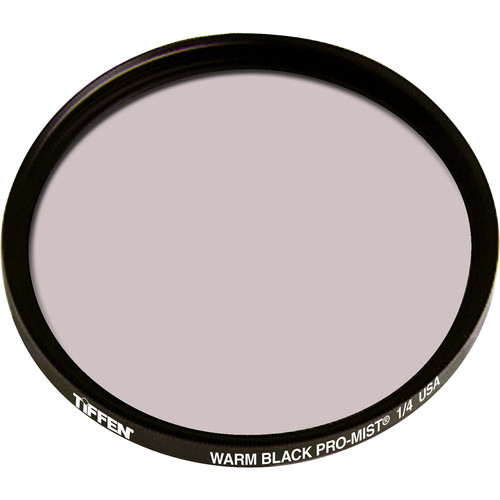 "Tiffen 4.5"" Round Warm Black Pro-Mist 1/4 Filter"