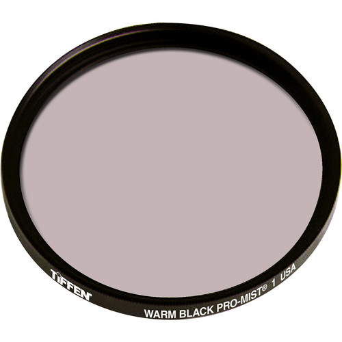 "Tiffen 4.5"" Round Warm Black Pro-Mist 1 Filter"
