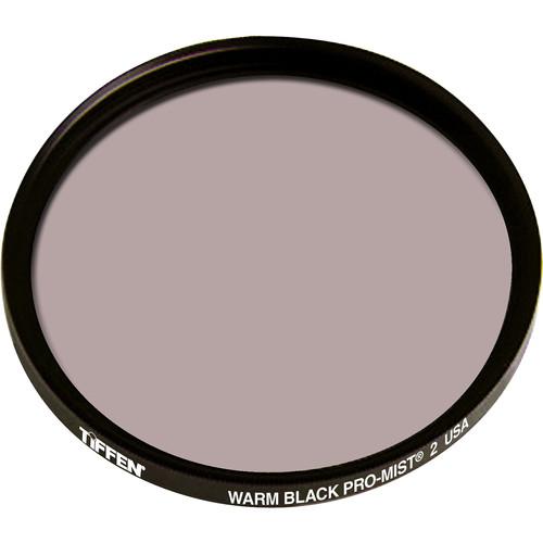 """Tiffen 4.5"""" Round Warm Black Pro-Mist 2 Filter"""