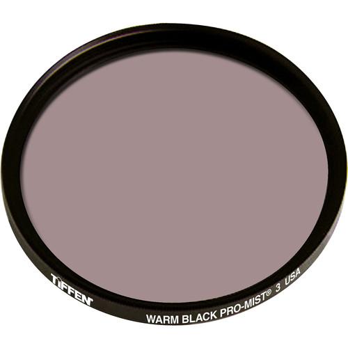 """Tiffen 4.5"""" Round Warm Black Pro-Mist 3 Filter"""
