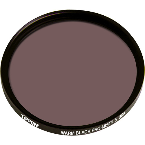 "Tiffen 4.5"" Round Warm Black Pro-Mist 5 Filter"