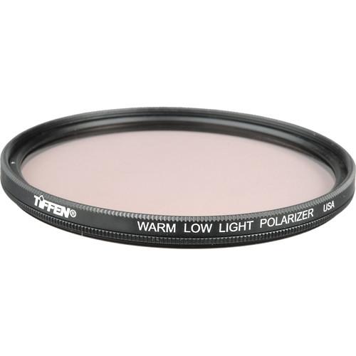 "Tiffen 4.5"" Round Warm Low Light Linear Polarizer Filter"