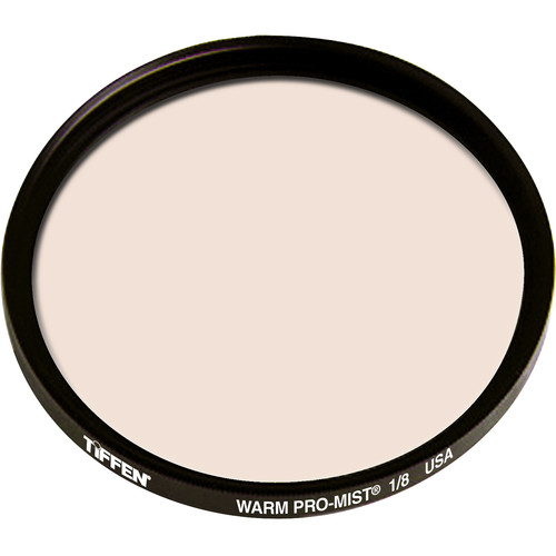 "Tiffen 4.5"" Round Warm Pro-Mist 1/8 Filter"