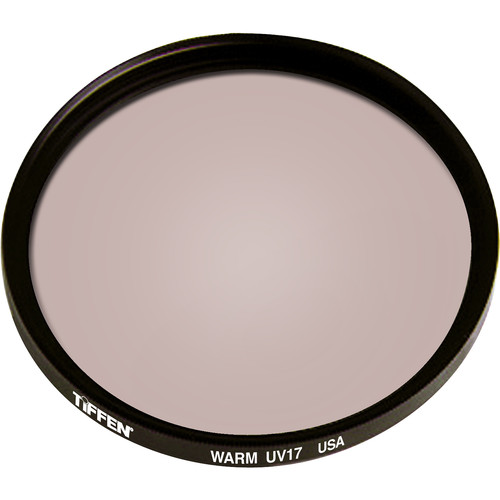 "Tiffen 4.5"" Round Warm UV 17 Filter"