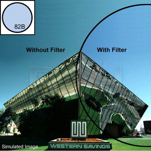 "Tiffen 4 x 4"" 82B Light Balancing Filter"