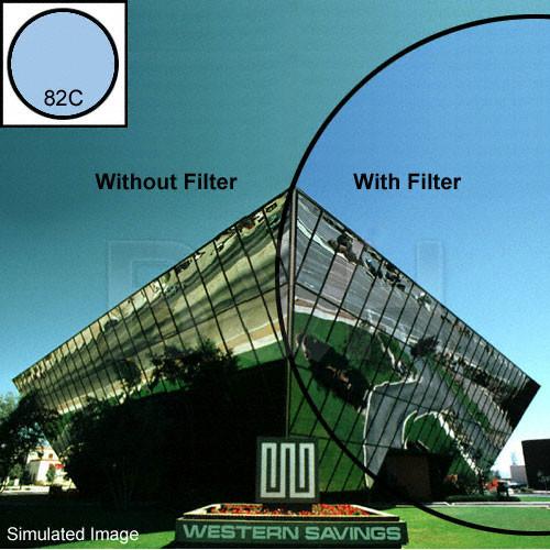 "Tiffen 4 x 4"" 82C Light Balancing Filter"