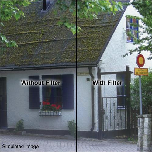 """Tiffen 4 x 4"""" 85C Color Conversion Filter"""