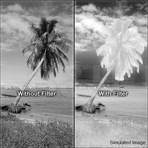 "Tiffen 4x4"" #87 Infrared Glass Filter"