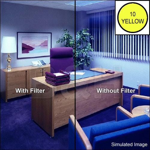 "Tiffen 4 x 4"" CC10Y Yellow Filter"