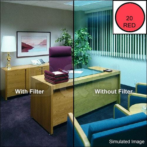 "Tiffen 4 x 4"" CC20R Red Filter"