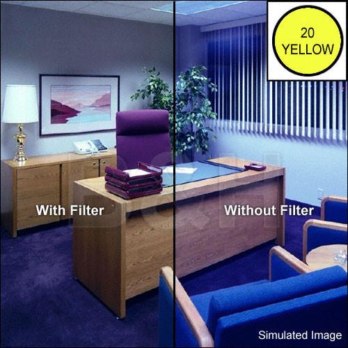 "Tiffen 4 x 4"" CC20Y Yellow Filter"
