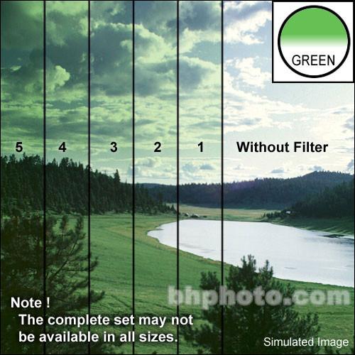 """Tiffen 4 x 4"""" 5 Green Soft-Edge Graduated Filter"""