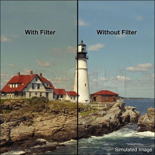 "Tiffen 4 x 4"" 1/8 Coral Solid Color Filter"