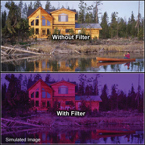 "Tiffen 4 x 4"" 3 Grape Solid Color Filter"