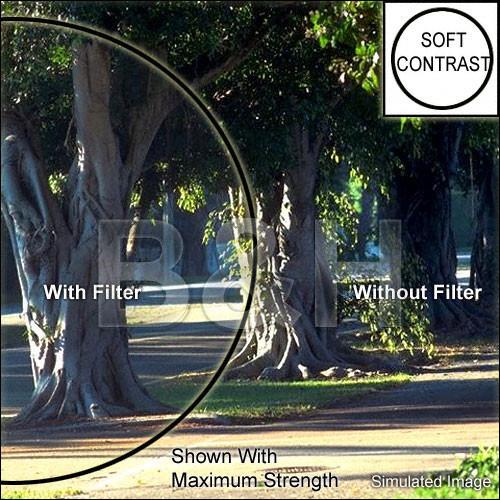 "Tiffen 4 x 4"" Soft Contrast 1 Glass Filter"