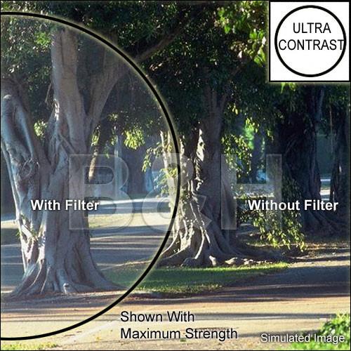 "Tiffen 4 x 4"" Ultra Contrast 1/2 Filter"