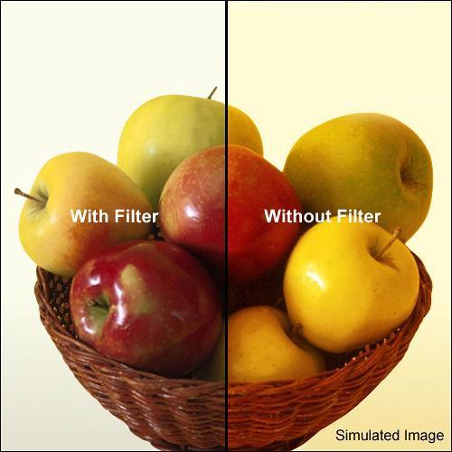 "Tiffen 4 x 5.65"" 80B Color Conversion Filter"