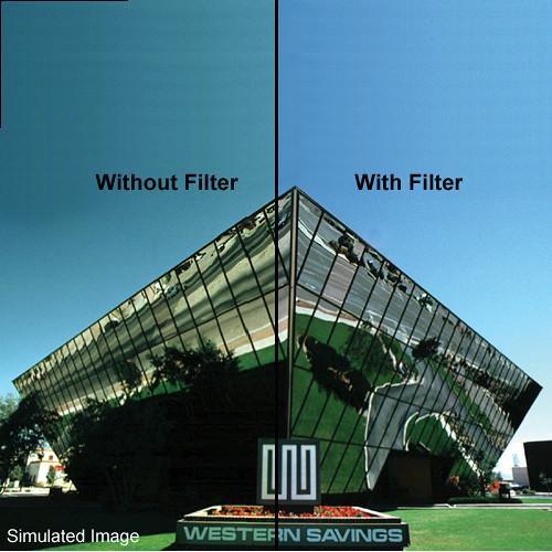 "Tiffen 4 x 5.65"" 82B Light Balancing Filter"