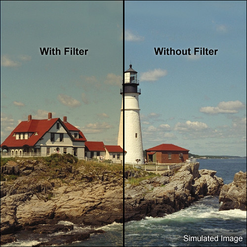 "Tiffen 4 x 5.65"" 3 Coral Solid Color Filter"