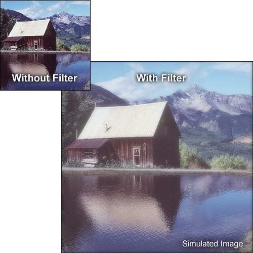 "Tiffen 4 x 5.65"" Fog 1/8 Filter"