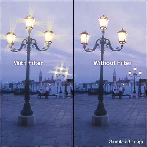 "Tiffen 4 x 5.65"" Hollywood Star Effect Glass Filter"