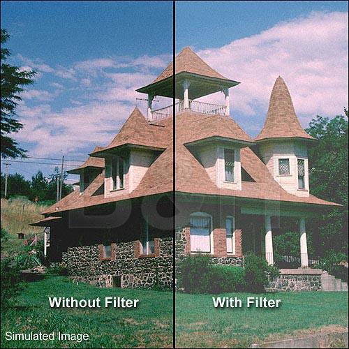 "Tiffen 4 x 5.65"" Low Light Dispersion Glass Filter"